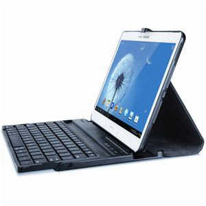 Targus THZ219FR - Etui rotatif Versavu avec clavier pour Samsung Galaxy Tab 3 10.1