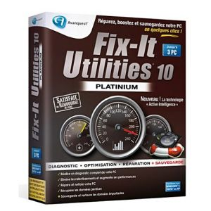 Image de Fix it utilities 10 - Edition platinum pour Windows