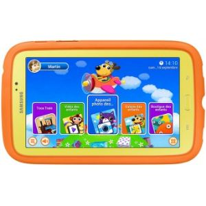 "Samsung Galaxy Tab 3 Kids 8 Go - Tablette tactile enfant 7"" sur Android 4.1"