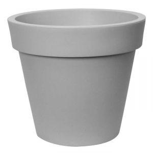 Deco & Tendance First ø45 - Pot de fleurs en plastique rotomoulé Ø45 cm