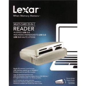 Lexar LRW025URBEU - Lecteur de cartes 25 USB 3.0 (25 en 1)
