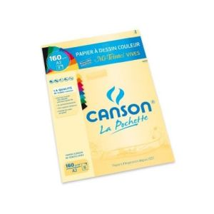 Canson Infinity 8 Feuilles de papier dessin 160 g (A3)