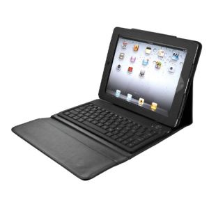 Trust 17839 - Folio Stand with Bluetooth Keyboard - Clavier étui sans fil Bluetooth pour iPad