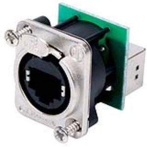 Neutrik NE8FDP - Embase avec connecteur RJ45 intégré