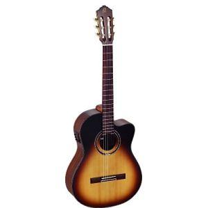 Ortega RCE158SN - Guitare classique électro-acoustique forme concert
