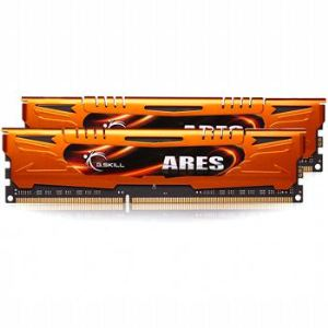 G.Skill F3-1600C9D-8GA - Barrettes mémoire Ares 2 x 4 Go DDR3 1600 MHz CL9 Dimm 240 broches