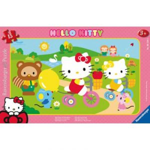 Ravensburger Puzzle cadre Hello Kitty (15 pièces)
