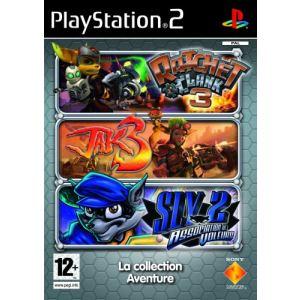 Triple Pack : Jak 3 + Ratchet & Clank 3 + Sly Raccoon sur PS2