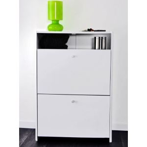 meuble a chaussures laque blanc comparer 197 offres. Black Bedroom Furniture Sets. Home Design Ideas