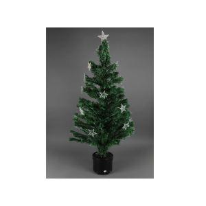 Sapin de Noël en fibre optique (120 cm)