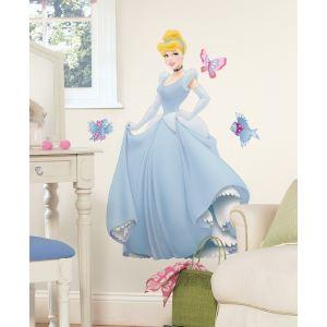 Fun House 711608 - Stickers géants repositionnables (Princesses)