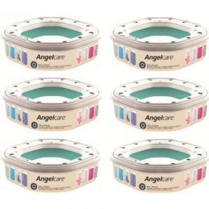 Angelcare 6 recharges octogonale pour poubelle à couches Dress Up