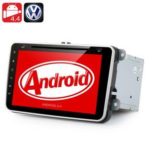 """High-Tech Place Autoradio Android 4.4 pour Volkswagen avec écran 8"""" GPS Desnav/Bluetooth/WiFi/Compatible 3G"""
