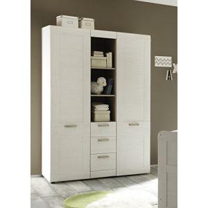 132 offres armoire 130 cm economisez et achetez en ligne. Black Bedroom Furniture Sets. Home Design Ideas