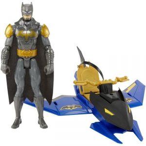 Mattel Véhicule Batjet + Figurine Batman Unlimited 30 cm