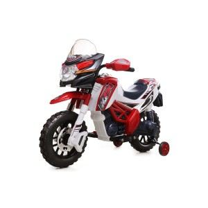 Pembury Trading P-518R - Motocross électrique rouge 6V Ride On Bike
