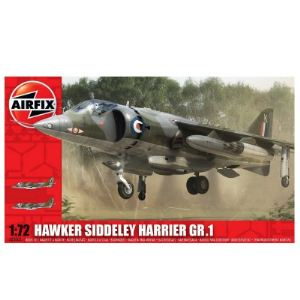 Airfix AI03003 - Maquette avion Hawker Siddeley Harrier GR.1 - Echelle 1:72