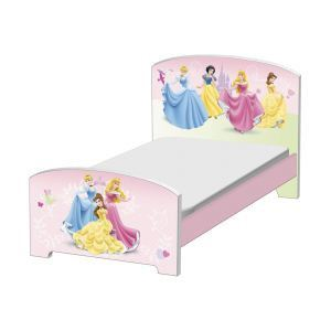 Delta Children Lit enfant en bois Disney Princesse