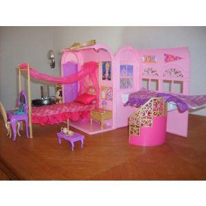 Mattel Chambre magique Barbie 2 en 1