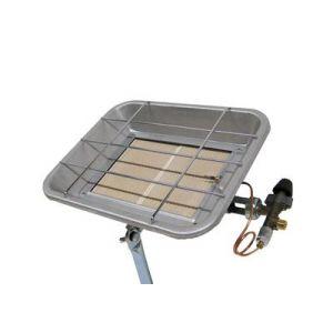 Perel FT5130 - Chauffage radiant gaz 4000 Watts avec thermocouple de sécurité