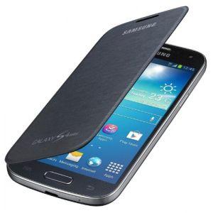 Samsung EF-FI919BB - Étui flip cover pour Galaxy S4 Mini