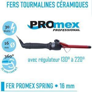 Promex 211 050 - Fer à friser Tourmaline céramique spring