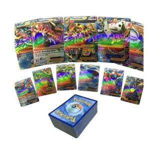 Asmodée Coffret Pokemon 80 cartes Ex de base e 18 Mega XY Flash