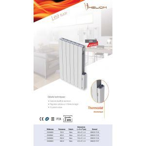 radiateur a inertie 1500 watts comparer 201 offres. Black Bedroom Furniture Sets. Home Design Ideas