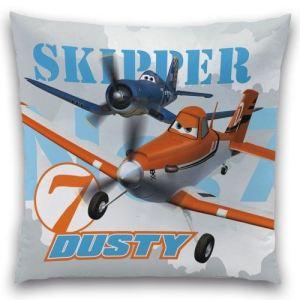 Cti Coussin Dusty et Skipper en coton (40 x 40 cm)