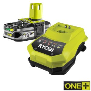 Ryobi RBC18L15 - Batterie Lithium-Ion 1,5 Ah + super chargeur 18V One+