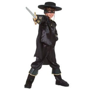 César Déguisement Zorro (8-10 ans)