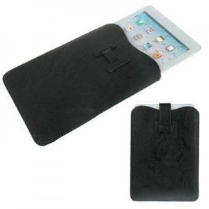 LambeMu E14N4-IPADM-0017 - Pochette simili cuir ultrafine pour iPad Mini