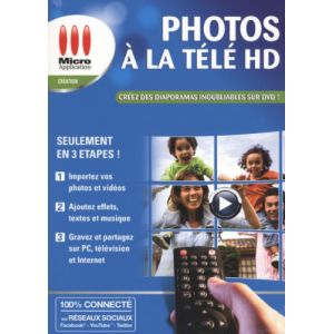 Vos Photos à la Télé HD pour Windows