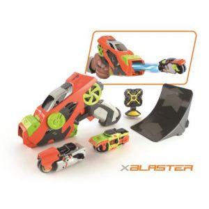 Silverlit Pistolet lanceur de voitures X Blaster avec deux voitures