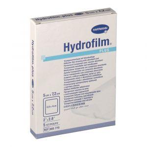 Hartmann Hydrofilm plus 5 cm x 7,5 cm - 5 Pansements