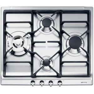 Smeg SER60SGH3 - Table de cuisson gaz 4 foyers
