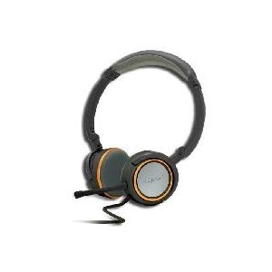 """Approx APPHS05O - Casque-micro filaire 2x 3.5 mm (1/8"""")"""
