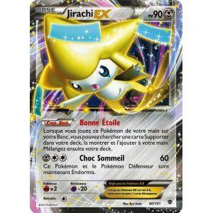 Asmodée Jirachi-Ex - Carte Pokémon 060/101 série BW Explosion Plasma