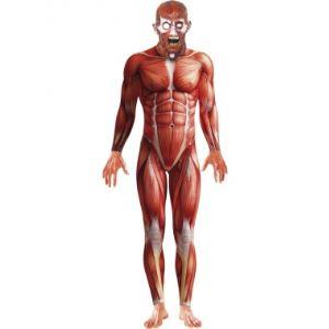 Déguisement seconde peau anatomie humaine