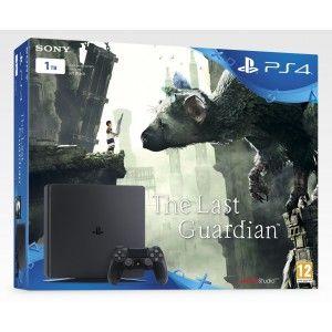 Sony PS4 noire 1 To + Jeu The Last Guardian