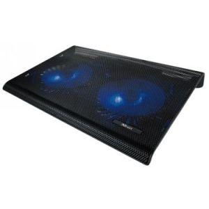 Trust Azul - Refroidisseur USB avec deux Ventilateurs pour Ordinateur Portable