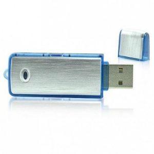 High-Tech Place CUAEE02 - Clé USB audio espion enregistreur 75h 4 Go