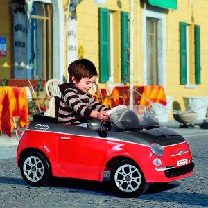 Peg Perego Voiture électrique Fiat 500 avec radiocommande à distance