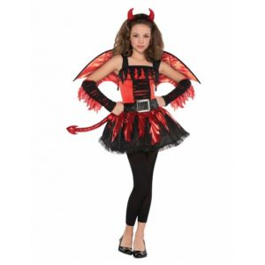 Smiffy's Déguisement diable adolescente Halloween