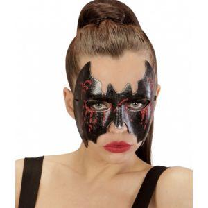 Loup chauve-souris ensanglanté femme Halloween