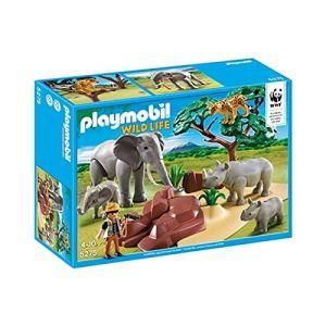 Playmobil 5275 Wild Life - Animaux de la savane avec photographe
