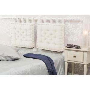 Tête de lit coussin capitonné (50 x 60 cm)