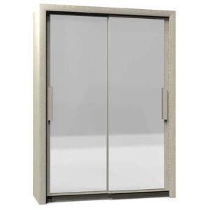 Armoire Perfect 2 portes coulissantes (154 cm)