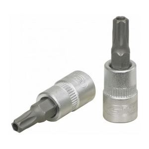 "KS Tools 911.1465 - Douille tournevis 1/4"" Torx percé T25 L.37 mm"