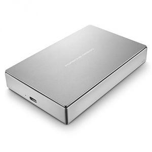 """Lacie STFD4000400 - Disque dur externe Porsche Design Mobile Drive 4 To 3.5"""" USB 3.1"""
